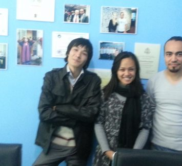 A friendly meeting with Eileen Guo from NYC, USA