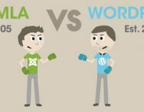 WordPress vs. Joomla – Why we choose WP instead of Joomla