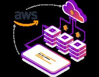 Hosted on Amazon Web Service